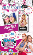 Maggie & Bianca Selfie Sticker, 3-sortiert