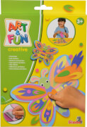 Simba Art & Fun Filzsticker Schmetterling