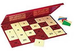 LÜK Kontrollgerät mit 24 Aufgabenplättchen, ca. 25x18 cm, von 6 - 8 Jahren