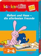 Bambino Lük Set: Elefant und Hase - die allerbesten Freunde, Sondereinband, von 2 - 4 Jahren