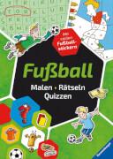 Ravensburger 23332  Malen-Rätseln-Quizzen - Fußball