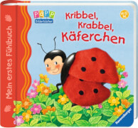 Ravensburger 43295 Mein erstes Fühlbuch: Kribbel, krabbel, Käferchen