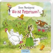Nordqvist, Wo ist Pettersson?, Gebundenes Buch, 22 Seiten, ab 2 Jahren