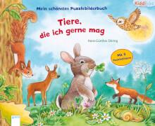 Arena Mein schönstes Puzzlebilderbuch  - Tiere, die ich mag