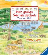 Ravensburger 43647 Mein großes Sachen suchen - Tiere der Welt