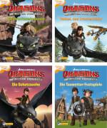 Drachenzähmen leicht gemacht Minibuch Dreamwork Dragons 1-4