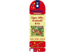 Arena Bandolino Set 47, Tiger, Affe