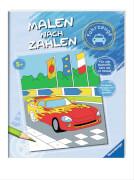 Ravensburger 55854 Malen nach Zahlen: Fahrzeuge