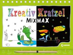 Loewe Kreativ-Kratzelbuch MIX MAX Tiere