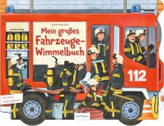 Mein großes Fahrzeuge-Wimmelbuch, Pappbilderbuch, 14 Seiten, ab 3 Jahren