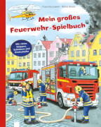 Arena - Mein großes Feuerwehr-Spielbuch, Pappbilderbuch, 12 Seiten, ab 24 Monaten-4 Jahren