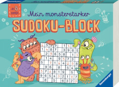 Ravensburger 55993 Mein monsterstarker Sudoku-Block -F18