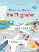 Malen und Stickern: Am Flughafen
