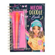 Depesche 10273 TOPModel Neon Doodle Malbuch