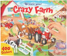 Depesche 10745 Create your Crazy Farm, Malbuch