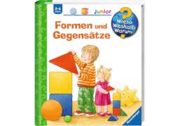 Ravensburger 32811 Wieso? Weshalb? Warum? Junior Band 31: Formen und Gegensätze