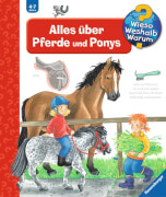 Ravensburger 024483  Wieso?Weshalb?Warum? - Alles über Pferde und Ponys