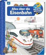 Ravensburger 32884 Wieso? Weshalb? Warum? 8: Alles über die Eisenbahn