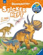 Ravensburger 32677 WiesoWeshalbWarum? Stickerheft: Dinosaurier