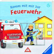 Ravensburger 015641 Schiebebuch Feuerwehr