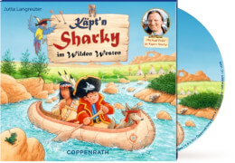 CD Hörspiel: Käpt'n Sharky im Wilden Westen