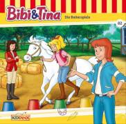 Bibi und Tina - Folge 82: die Reiterspiele (CD)