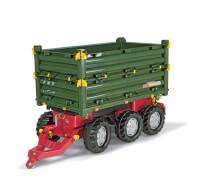 rollyToys Anhänger Multi-Trailer Grün 3-achsig