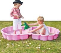 Sand-/Wassermuschel rosa 2-teilig