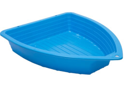 Sand-/Wasser Schiff blau, 2 Teile 120 x 100 cm