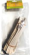 SpielMaus Outdoor Schwungseil mit Wirbel, Länge 8 m