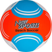 New Sports Beach Soccer, Größe 5, 4-fach sortiert, unaufgeblasen