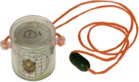 Pfiffikus-Mini Lupenbecher 4 cm & Schnur