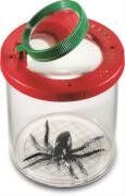 Navir World's Best - Insektenbeobachter mit Doppel-Lupe, Kunststoff, ca. 30x30x10 cm, rot