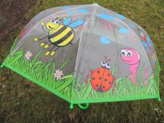 Regenschirm transparent, Länge ca. 58 cm