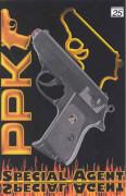 PPK Pistole 25 Schuss, 18 cm, Tester, für Kinder ab 10 Jahre.