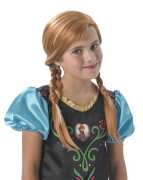 Kostüm Disney Frozen Perücke Anna
