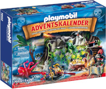 PLAYMOBIL 70322 Adventskalender ''Schatzsuche in der Piratenbucht''