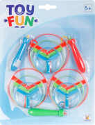Toy Fun Flugkreisel, 12-teilig, Blisterkarte