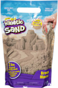 Spin Master Kinetic Sand Colour Bag Braun 907 Gramm