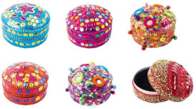 Schmuckbox rund Oriental 6 Designs