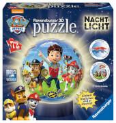 Ravensburger 11842 Puzzleball Nachtlicht Paw Patrol 72 Teile